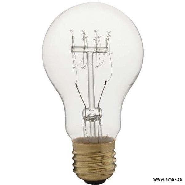Koltrådslampa A60 60W
