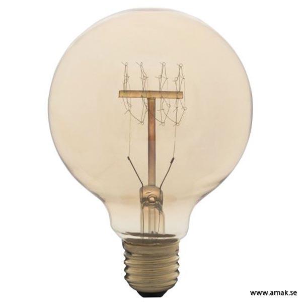 Koltrådslampa Globe 95 60W