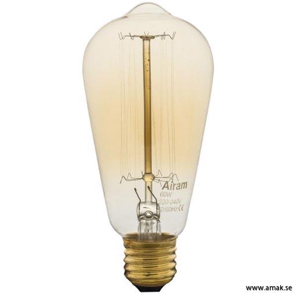 Koltrådslampa ST64 60W