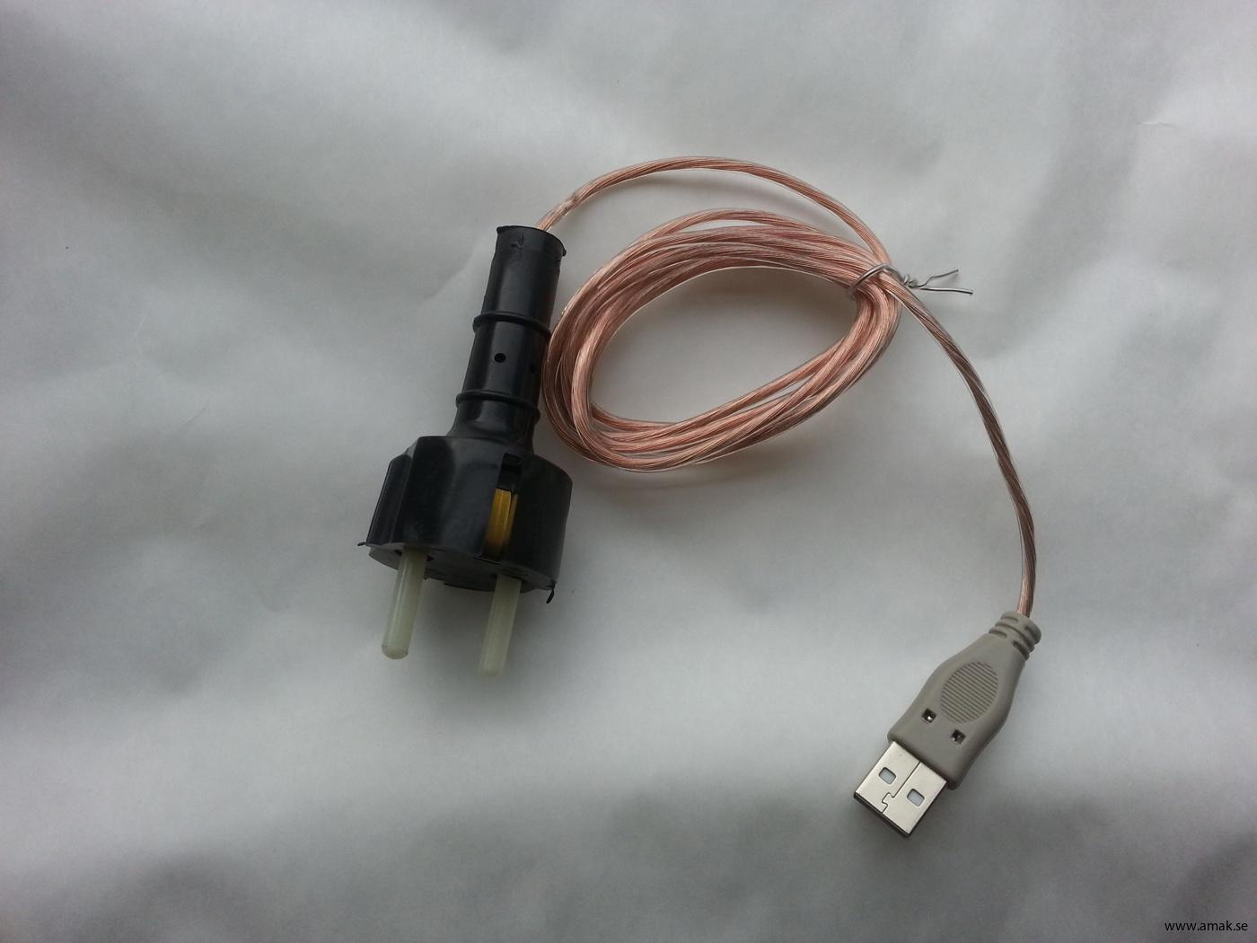 JK3 Jordkontakt till USB