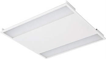 Skärmad LED-panel, 38W, IP21 -
