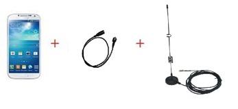 Extern antenn för mobiltelefon - Extern antenn samt patch till S3