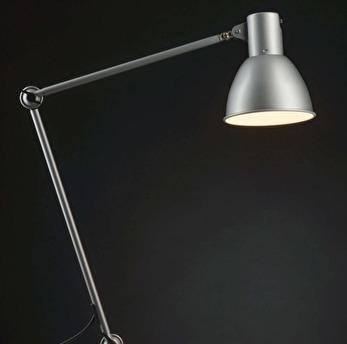 Skrivbordslampa skärmad -