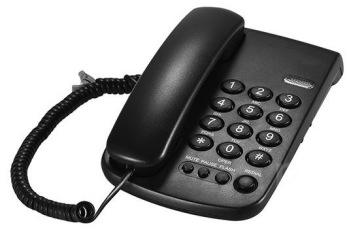Amak skärmad analog telefon -