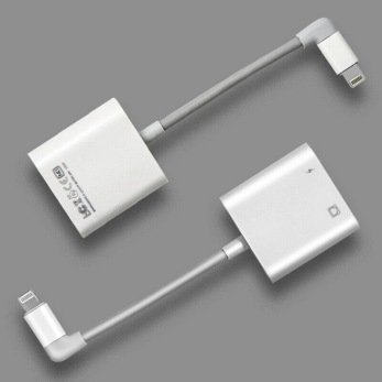 Kör din iPad / iPhone via trådbundet och ladda samtidigt - iPad/iPhone via kabel + ladda
