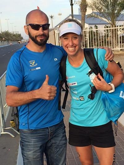 Sprang även på Lisa Nordén som kom på en 20e plats i sin Sprint tävling!! Hon var nöjd och jag var nöjd!! :-)