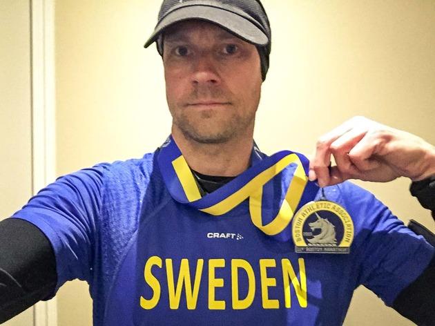 Skönt att få med sig en medalj hem från idag!