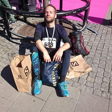 Äntligen klar efter Stockholm Citytrail