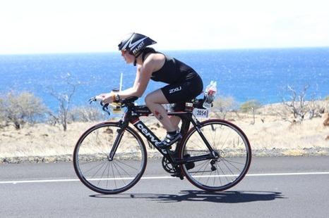 Det ser ju väldigt härligt ut om man tittar på cykelbilderna..men icke!