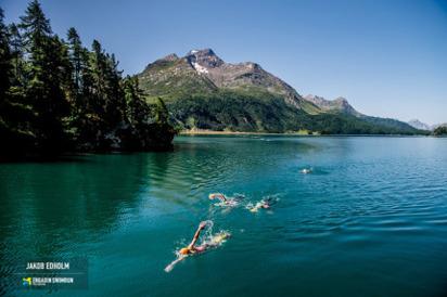En av de längre simningarna. Bild:Jakob Edholm