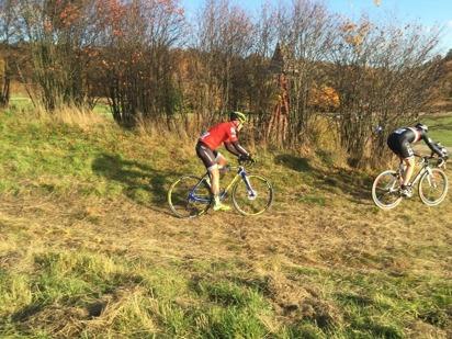 Gropar och ojämnheter slet på cykel och cyklist Foto: Camilla Lundberg