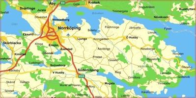 Gårdsveterinärerna karta Norrköping