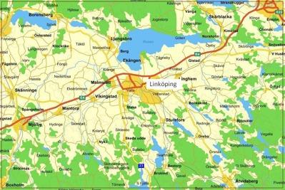 Gårdsveterinärerna karta Linköping