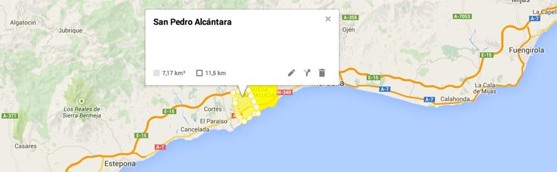 Maps Costa Del Sol Urbanization Maps