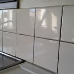 Asbest i kakelfog och fix i kök