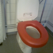 Toalettsits mjuk