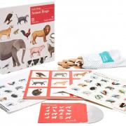 Djurbingo inkl. CD skiva med djurläten