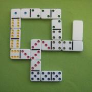Domino 4 olika sorter