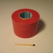 Röd 5 cm bred kontrast tejp