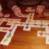 Domino 4 olika sorter - Knop Domino