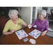 Bingo spelkort, whiteboard, natur