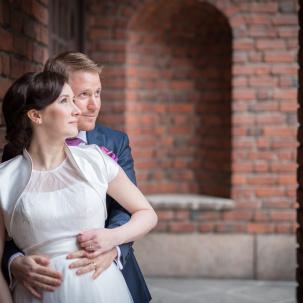 Bröllop Fotograf Michaela Edlund Kelas bilder Stadshuset Stockholm-4