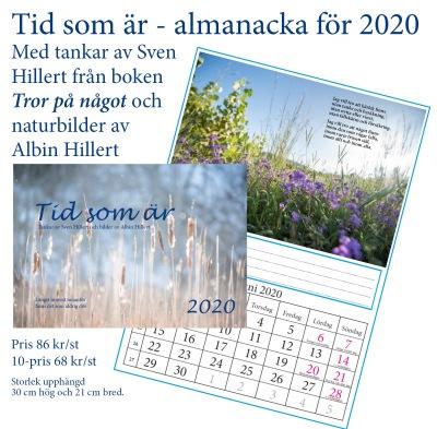 Almanacka 2020 Tror på något - Almanacka 2020 Tror på något