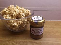 Djäknegårdens honung - Honungspopcorn