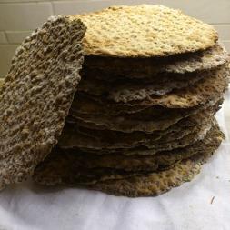 Djäknegårdens honung - Honungsknäckebröd med fänkål