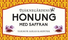 Djäknegårdens honung - Honung med Saffran