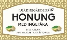 Djäknegårdens honung - Honung med Ingefära