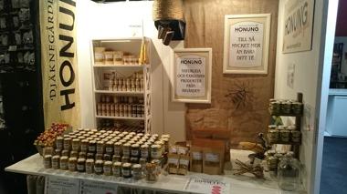 Djäknegårdens honung på matmässa