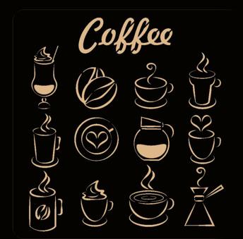 Coffee! - Schablon Small