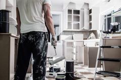 Måla kök och köksluckor