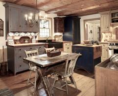 Måla kök och köksluckor med chalk paint (kalkfärg, kritfärg). Photo © B Brown