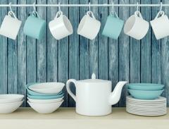 Måla kök och köksluckor med chalk paint (kalkfärg, kritfärg). Photo © Anna Oleksenko