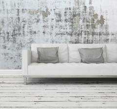 Måla golv och trappor med chalk paint (kalkfärg, kritfärg). Photo © PlusONE