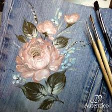 Autentico Vintage cjhalk paint. Foto Katia Markina