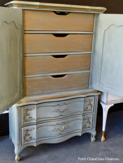 Autentico Vintage Chalk Paint. Photo ChauChau Chateau