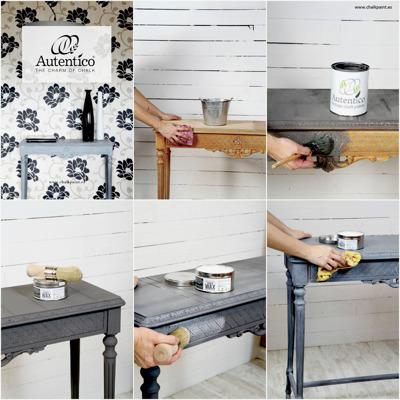 Autentico White Chalk Wax