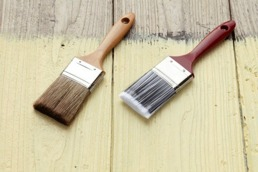 Måla golv och trappor med chalk paint (kalkfärg, kritfärg)