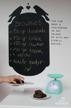 Chalkboard - Stor Schablon
