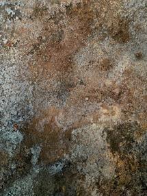 Ibland kan det torka liteljusare med kraftigare patina.