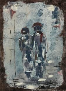 Konstnär Pia Eckelöv