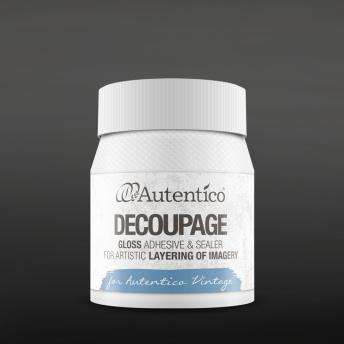 Autentico Decoupage lim/lack - Matt