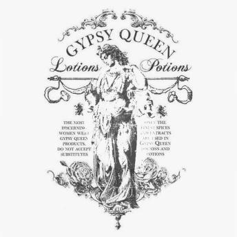 Gypsy Queen - Svart transfer