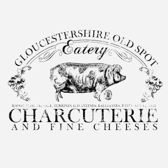 Gloucestershire - Svart transfer