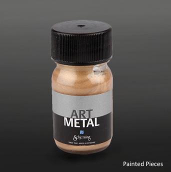 Art Metal Mörkguld - Burk 30 ml