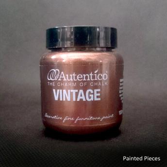 Autentico Standard Ancient Copper - Handmålad tag ca 5x8 cm