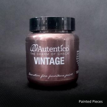 Autentico Standard Baroque Bronze - Handmålad tag ca 5x8 cm
